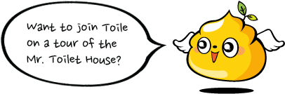 Want to join Toile on a tour of the Mr. Toilet House?